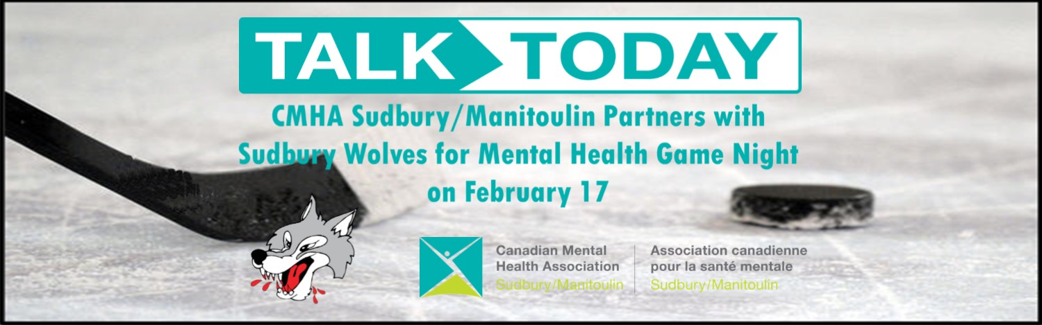 Sudbury Wolves and CMHA Sudbury/Manitoulin team up to raise awareness about mental health during home game