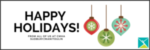 Happy Holidays newsletter banner