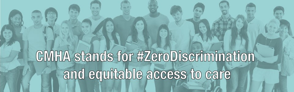CMHA takes a stand for Zero Discrimination Day