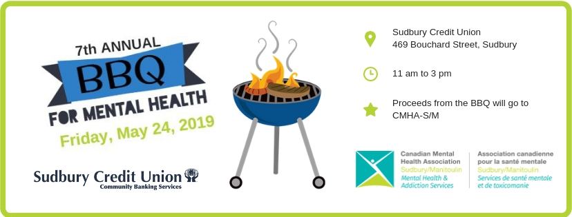 Seventh annual barbecue for mental health to be held May 24, 2019