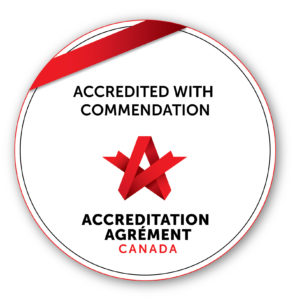 Accredited with Commendation