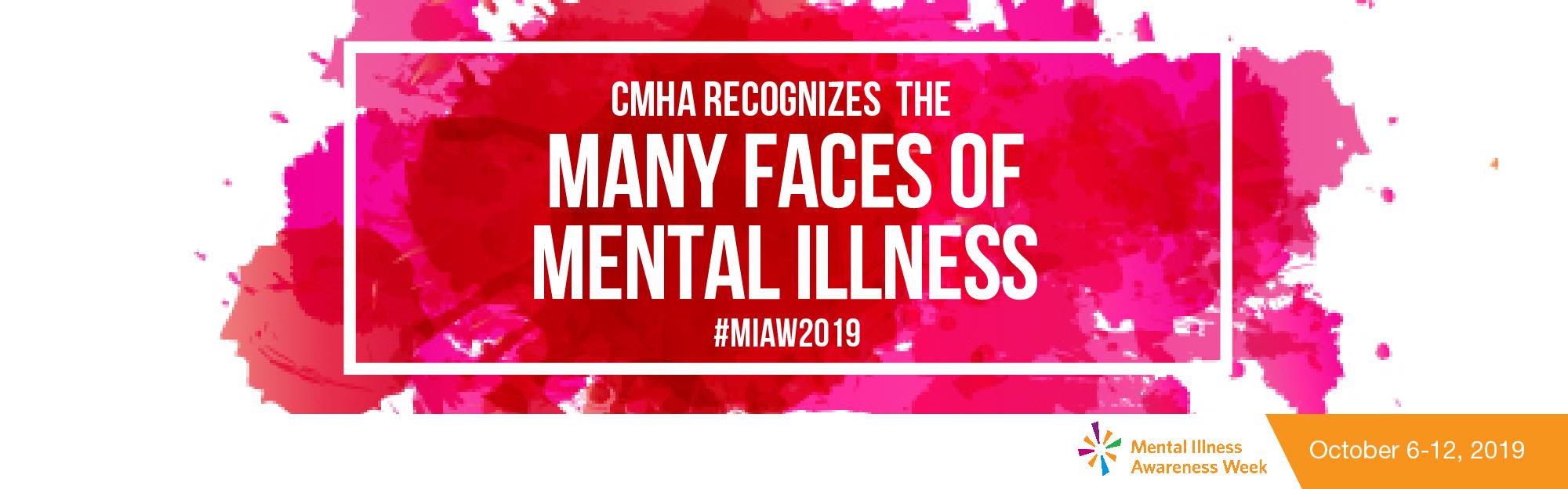 CMHA-S/M recognizes Mental Illness Awareness Week