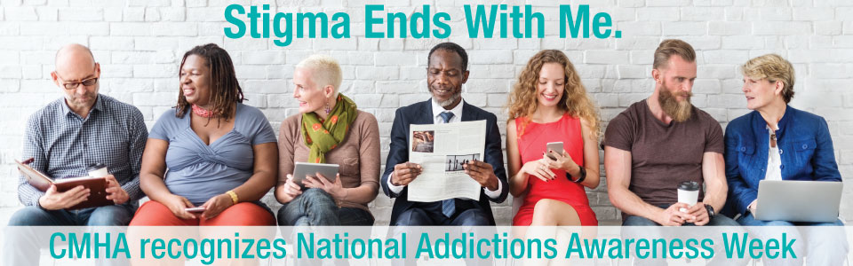CMHA-S/M recognizes National Addictions Awareness Week