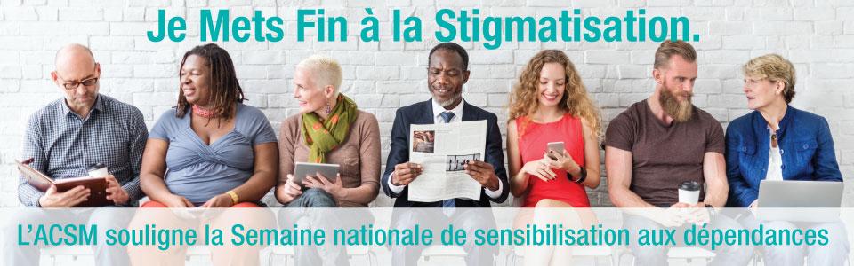 L'ACSM-S/M souligne la Semaine nationale de sensibilisation aux dépendances