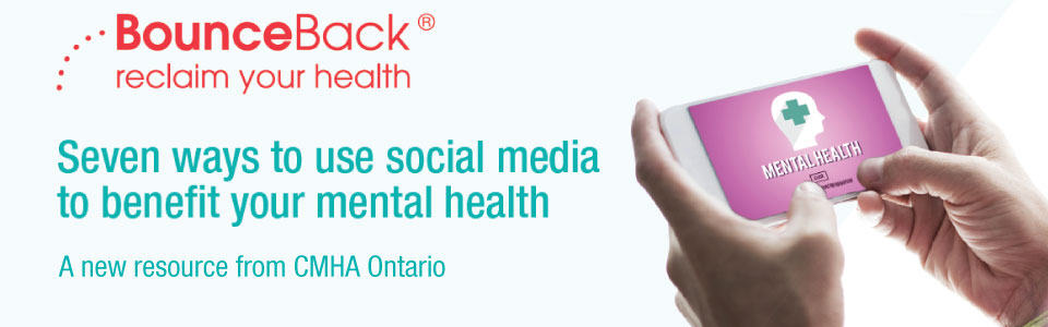 New resource on using social media to benefit your mental health